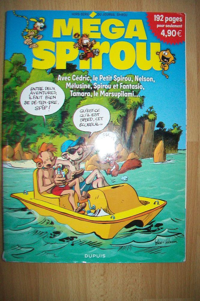 BD hors série : méga spirou de 192p 1 Jouy-le-Moutier (95)