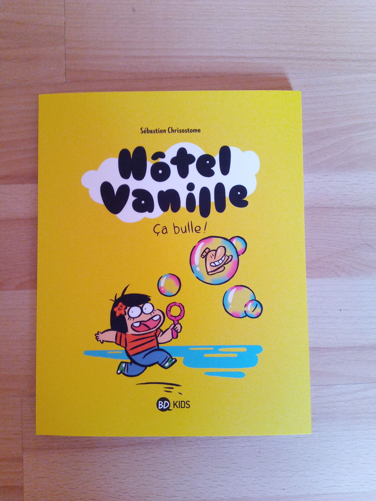 BD Hôtel Vanille ça bulle! Tome 2 (Neuve) 8 Ardoix (07)
