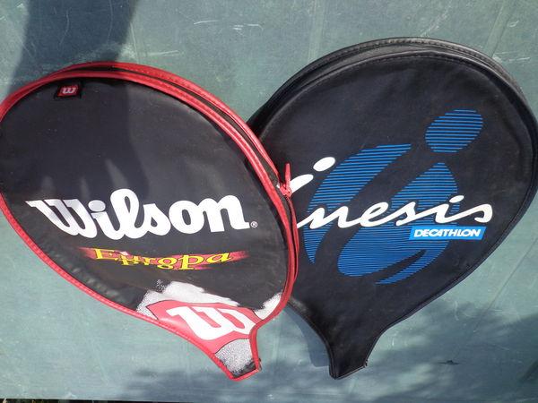lot 2 housses de raquette de tennis 4 Auxon (10)