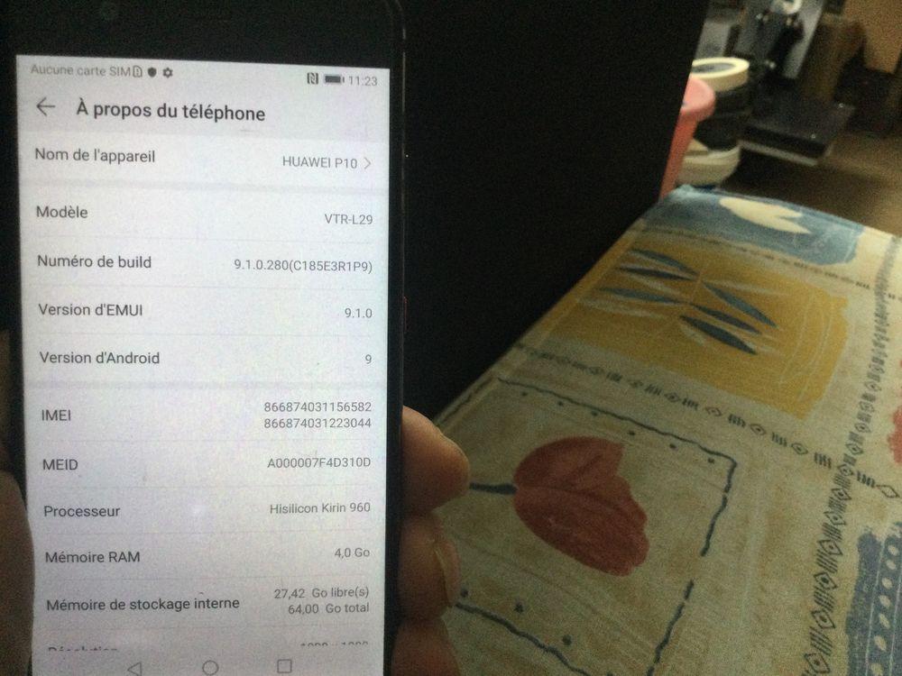 Huawei P10 64G parfait état  125 Meaux (77)