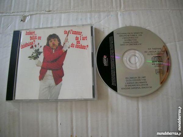 CD HUBERT FELIX OU THIEFAINE De l'amour, de l'art 10 Nantes (44)