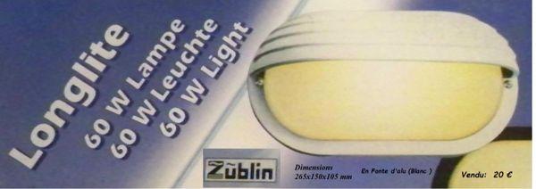 Hublot Fonte d'alu & verre avec lisière  Marque: Zublin  20 Étréchy (91)