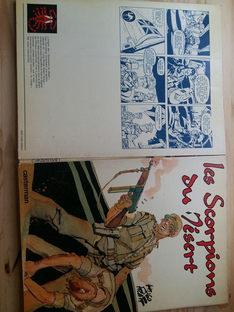 BD Hugo Pratt  les Scorpions du désert  1977 Noir & Blanc 25 Nantes (44)