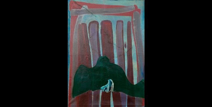 Huile sur toile Portal VI signée Pascual Tarazona Décoration