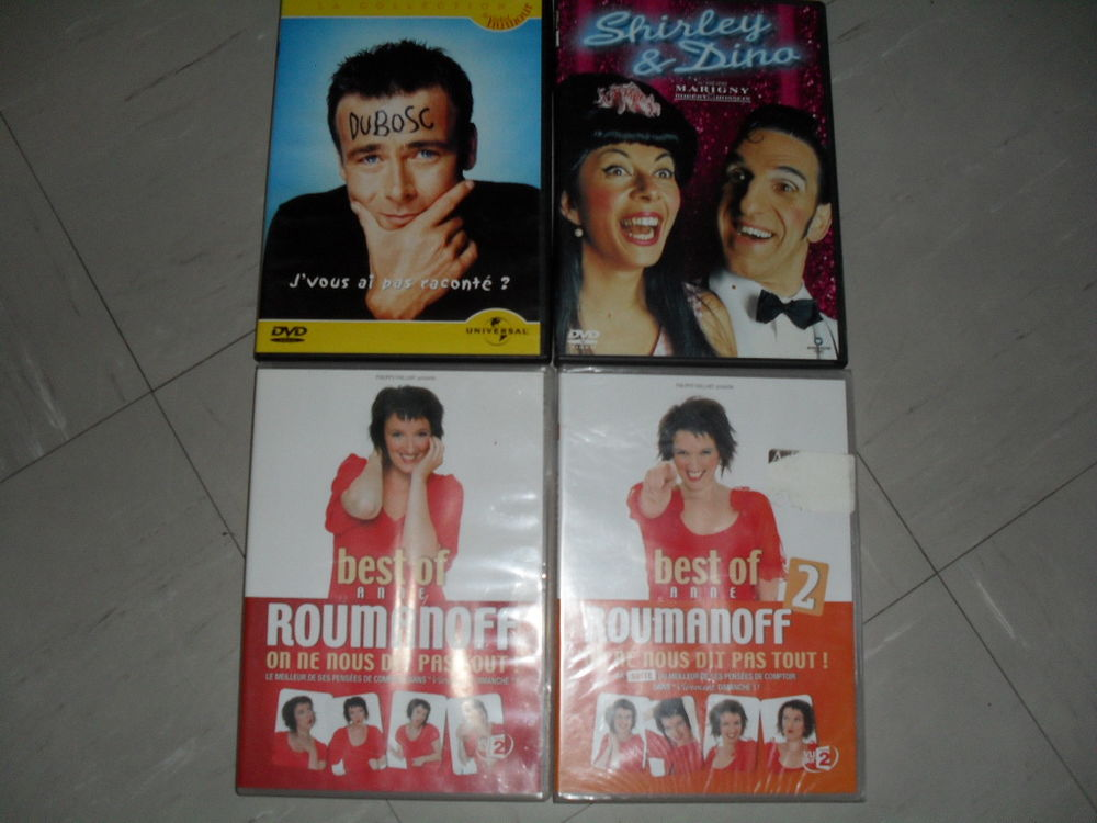 Lot 7 dvd,humour comique, dany boon dubosc shirley et dino  8 Toul (54)