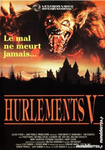 K7 Vhs: Hurlements 5 (67) DVD et blu-ray