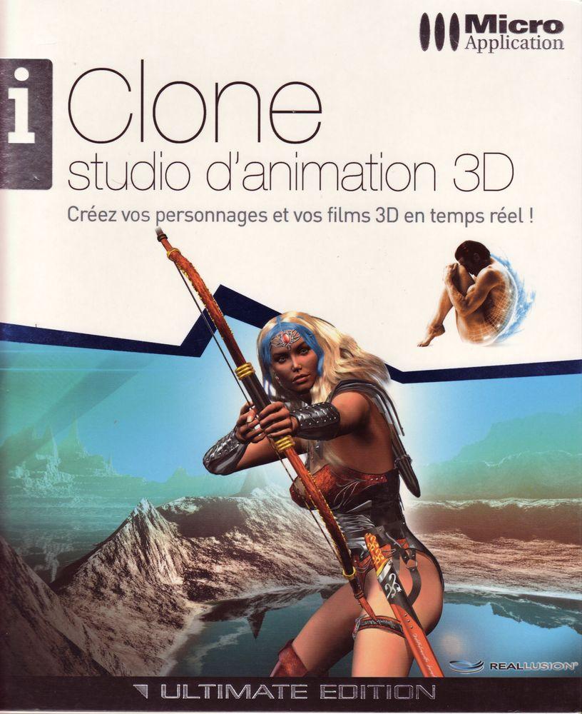 IClone studio d'animation Micro Application 25 Roffey (89)