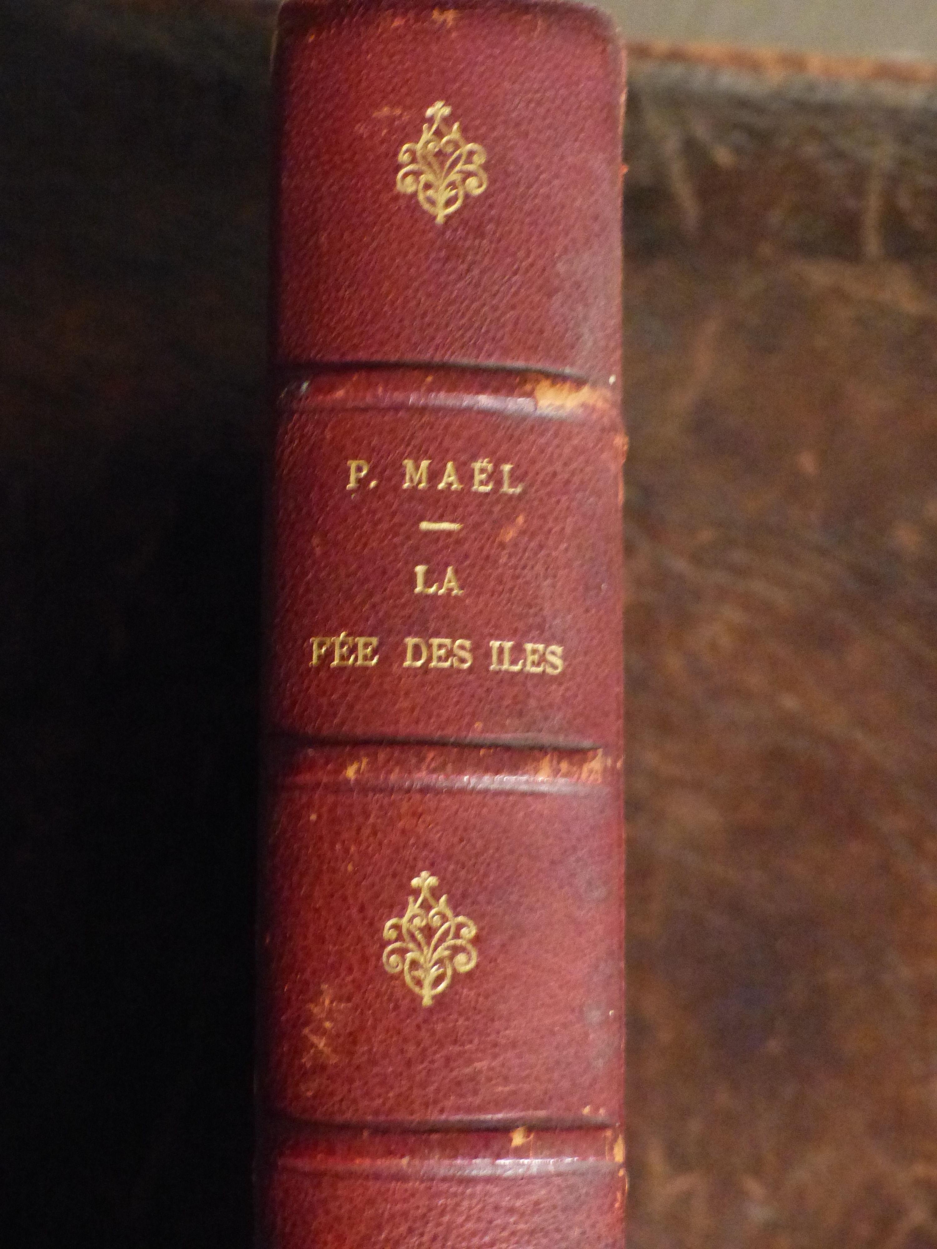 LA FEE  DES  ILES   -  1904 - livre collection 55 Roclincourt (62)