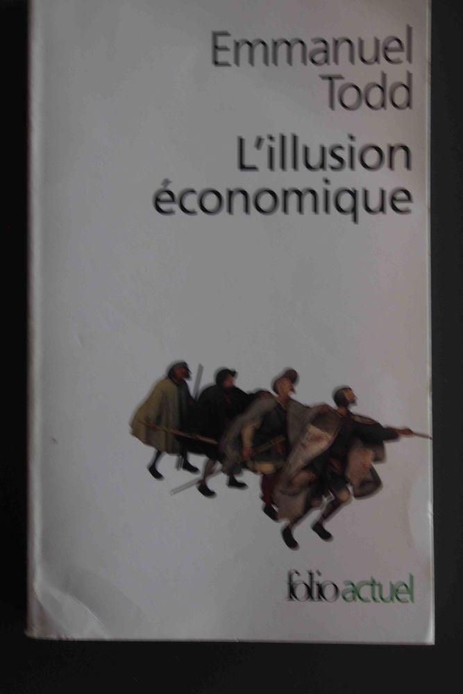 L'illusion économique Emmanuel Todd 4 Rennes (35)