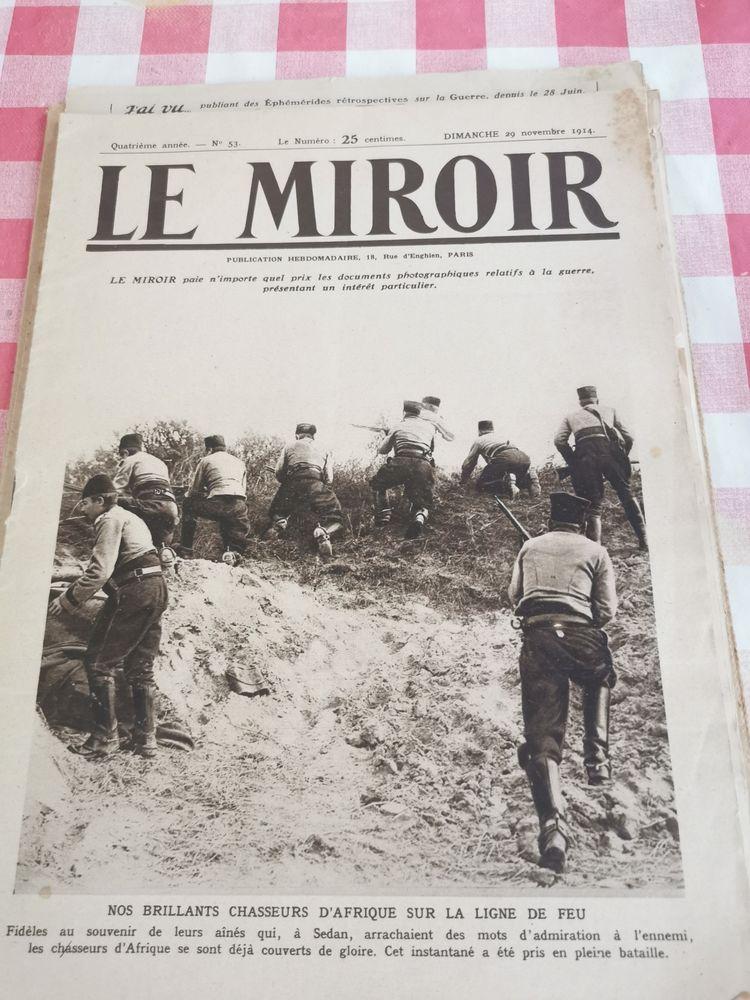 3 illustrés LE MIROIR de 1914  20 Arles (13)