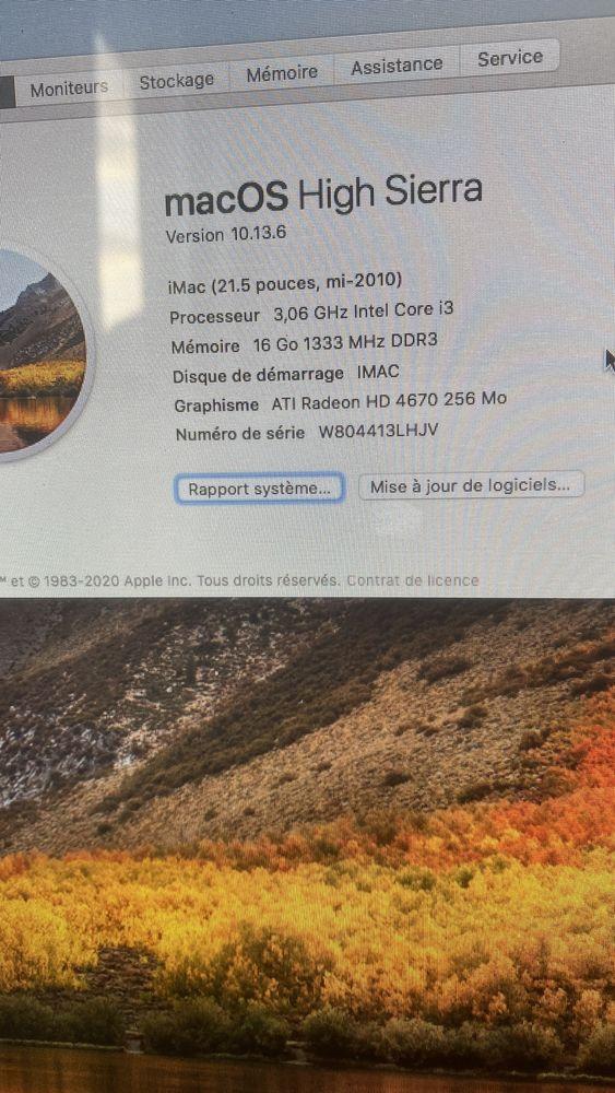 Pc iMac Matériel informatique