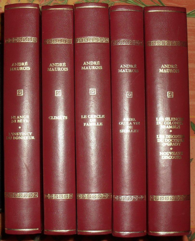 Les Immortels Chefs-d'Oeuvre  Maurois André 5 volumes 50 Montreuil (93)