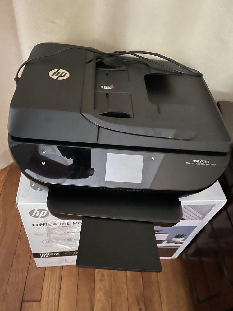 imprimante HP Envy 7640 et cartouches d'encre 150 Paris 17 (75)