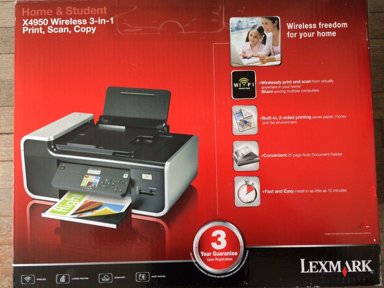 Imprimante lexmark x4950 70 Massy (91)