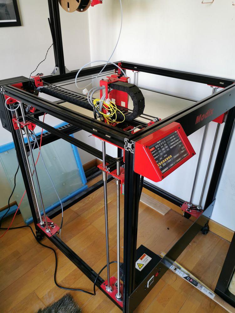 Imprimante 3D MODIX BIG60 V3 déjà montée. Très peu utilisée 0 Plaisir (78)