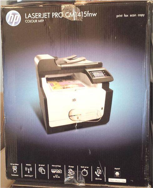 Imprimante HP neuf 4en1 LaserJet PRO Couleur WiFi Matériel informatique