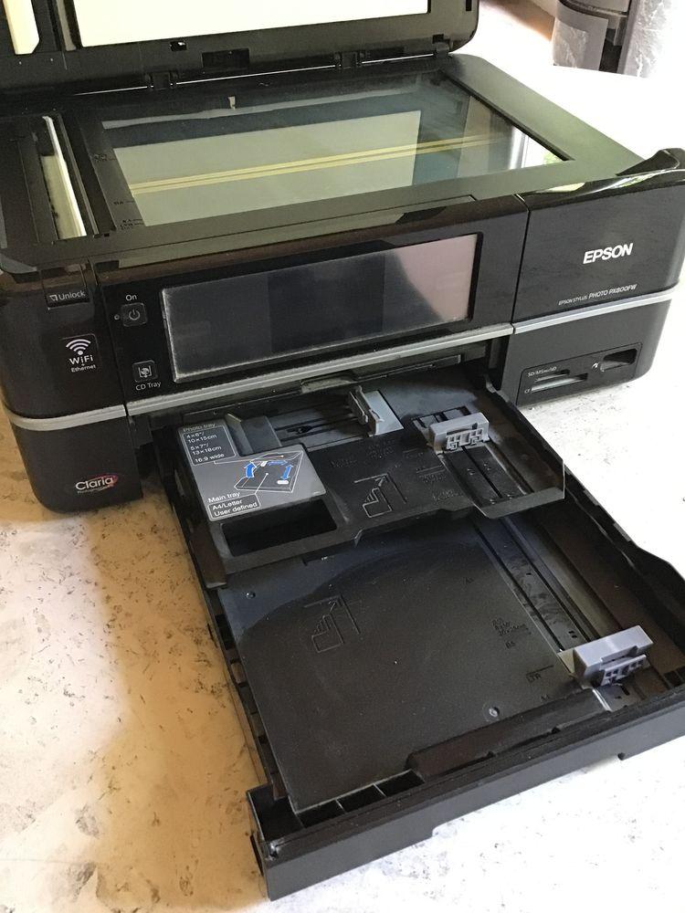 Imprimante / Scanner EPSON STYLUS PHOTO PX800FW Matériel informatique