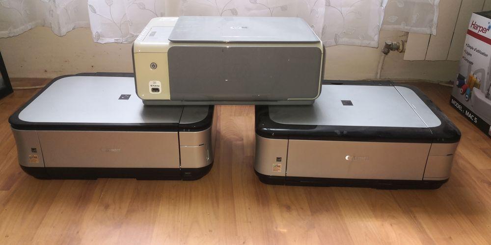 3 imprimantes +2 ordinateurs+ 2 cartes mères et pièces Matériel informatique