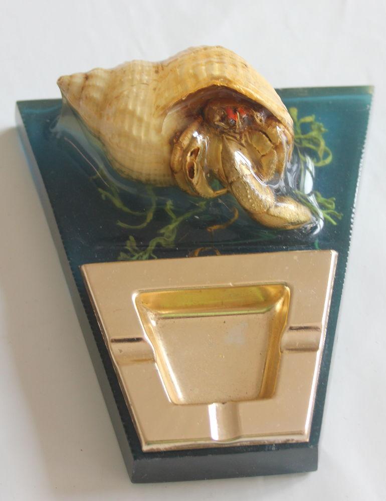 Inclusion 1960 cendrier Bernard L'hermite 25 Issy-les-Moulineaux (92)
