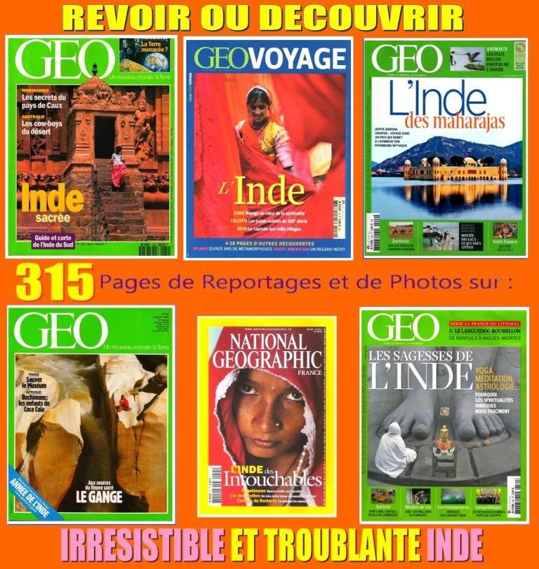 INDE - géo - MAHARAJAS / prixportcompris 18 Strasbourg (67)