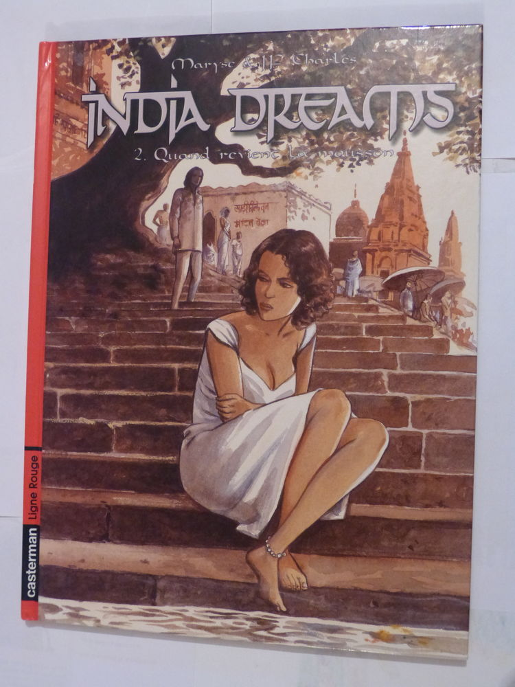 BD - INDIA DREAMS N°2 QUAND REVIENS LA MOUSSON  édit origina 12 Brest (29)