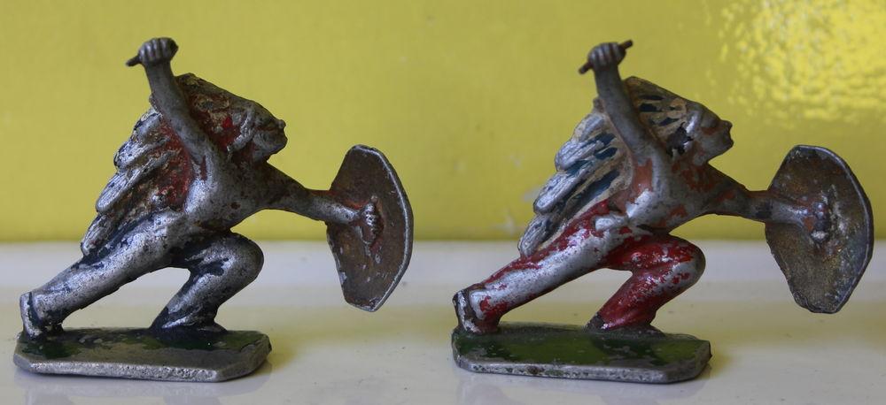 2 indiens avec lances et boucliers 12 Issy-les-Moulineaux (92)