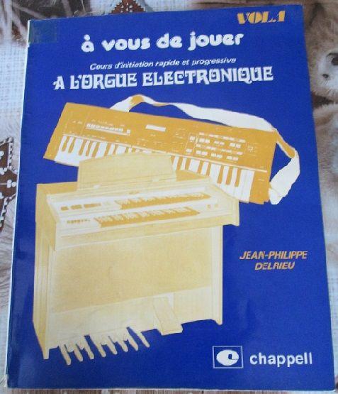 Initiation à l'orgue électronique Livres et BD