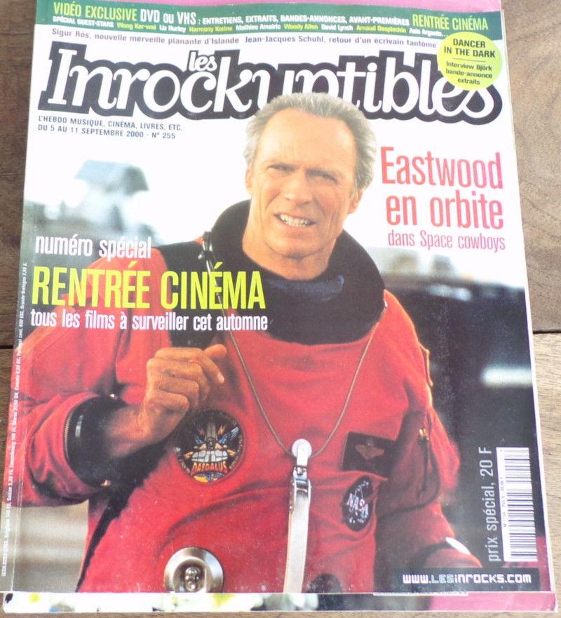les inrockuptibles Eastwood rentrée cinéma n°255 4 Laval (53)