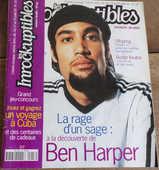 les inrockuptibles Ben Harper n° 18 juillet 1995  4 Laval (53)