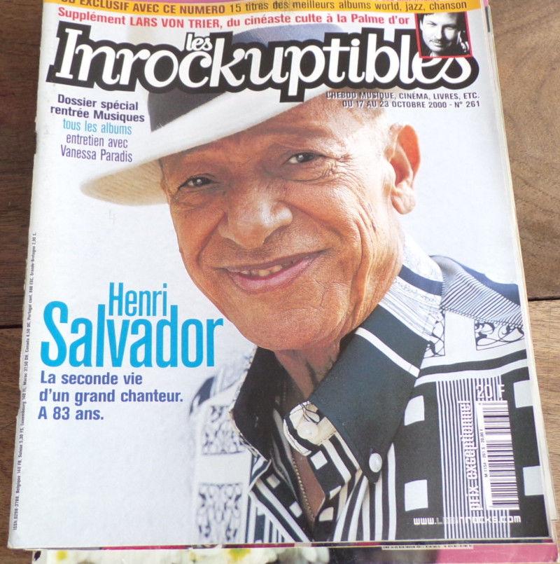 les inrockuptibles Henri Salvador n° 261  4 Laval (53)