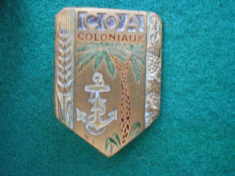 Insigne colonial - C.O.A. Commis Ouvriers Administrations. 18 Caen (14)