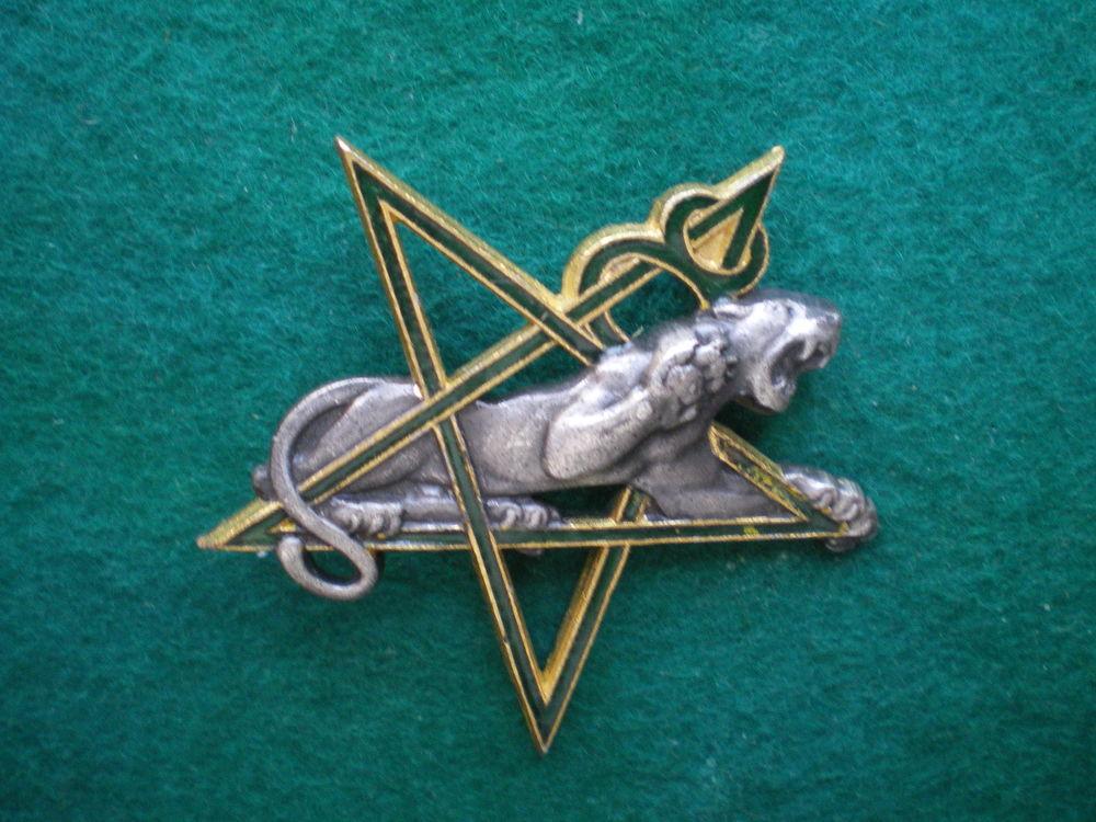 Insigne colonial - 8° Régiment de Tirailleurs Marocains. 45 Caen (14)