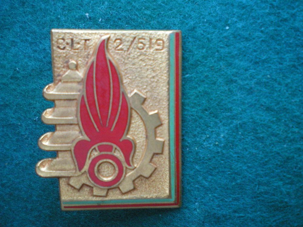 Insigne colonial - CLT 2/519. Cie de Transport de la Légion. 15 Caen (14)