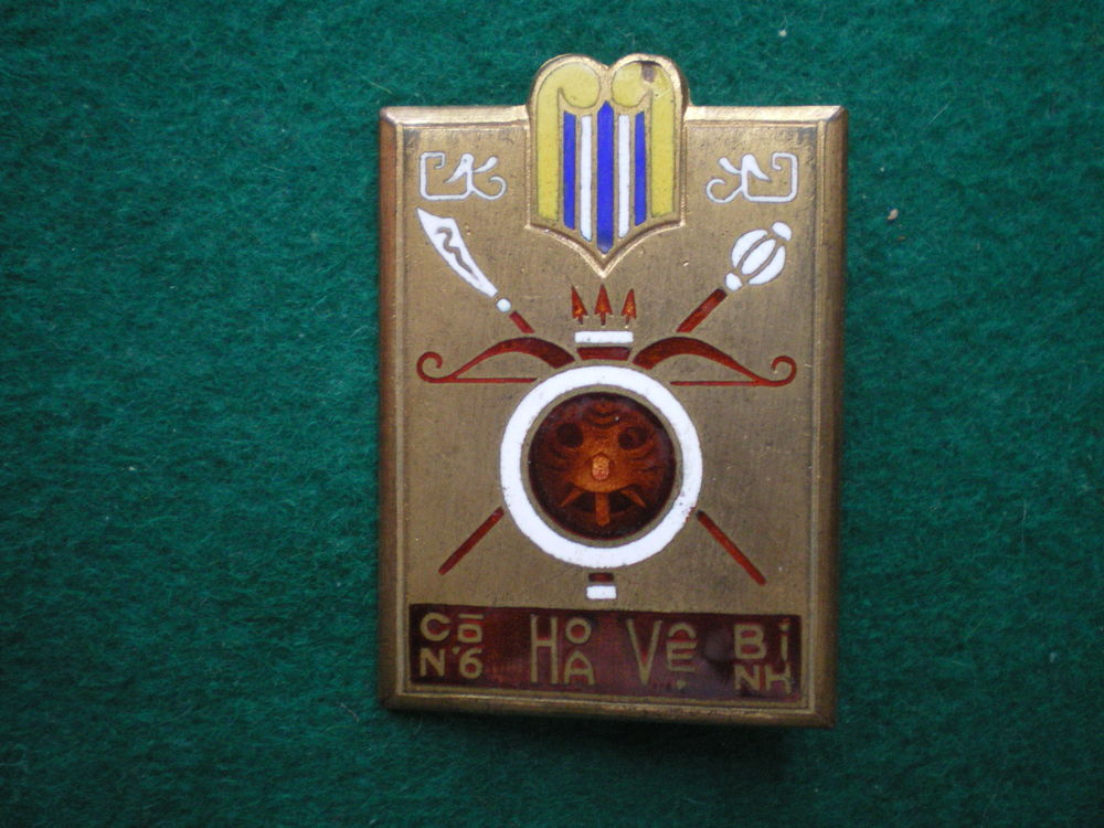 Insigne de Gendarmerie - Garde du Vietnam Sud. 50 Caen (14)