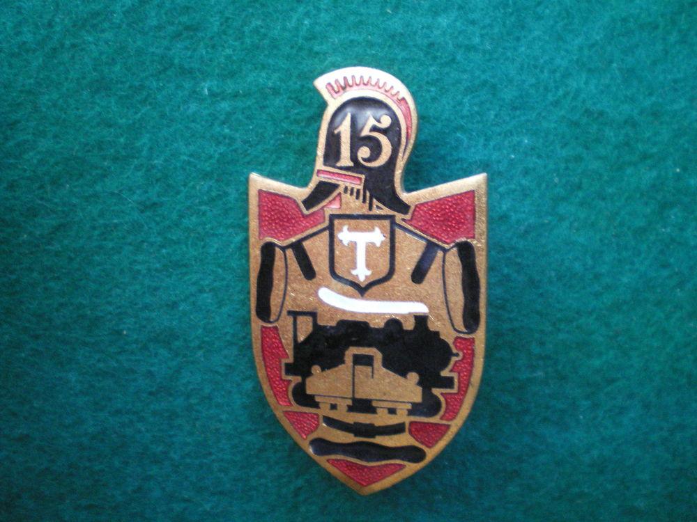 Insigne du Génie - 15° Régiment de Sapeurs Chemin de Fer. 150 Caen (14)