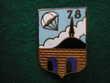 Insigne d'Infanterie - 78° Régiment d'Infanterie.