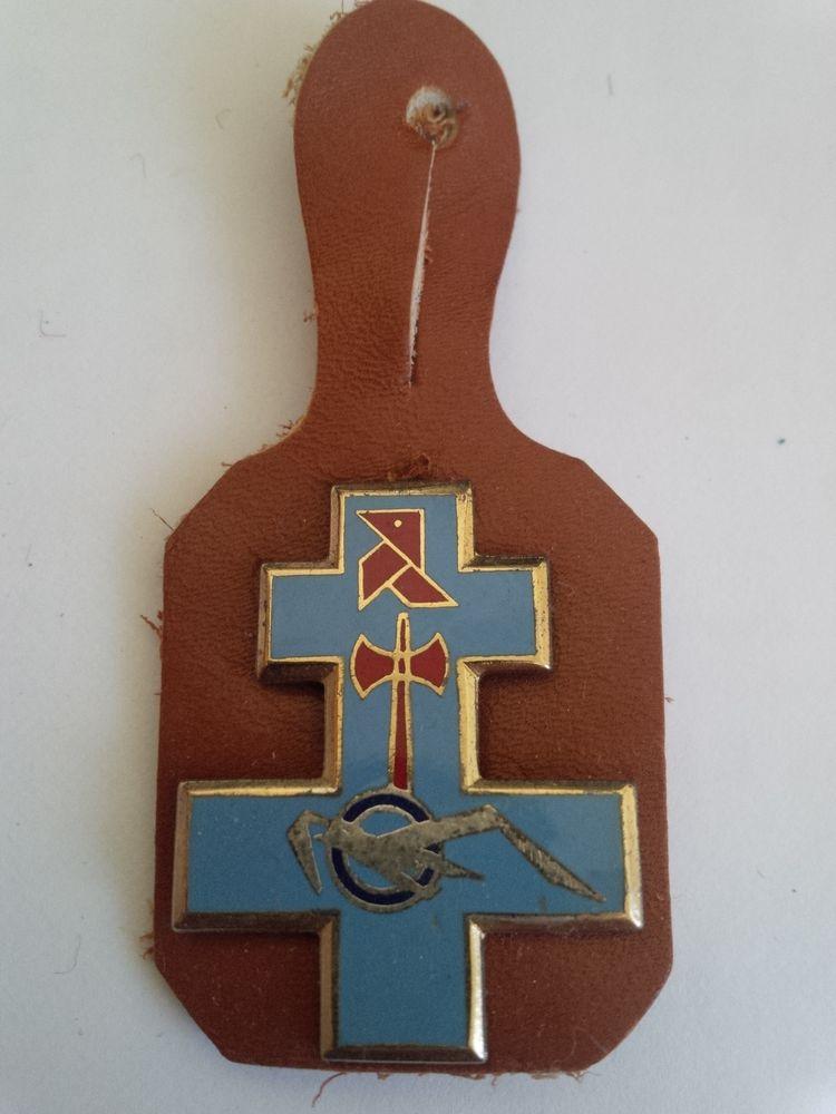 Insigne militaire pour collectionneur 8 11 Le Pecq (78)