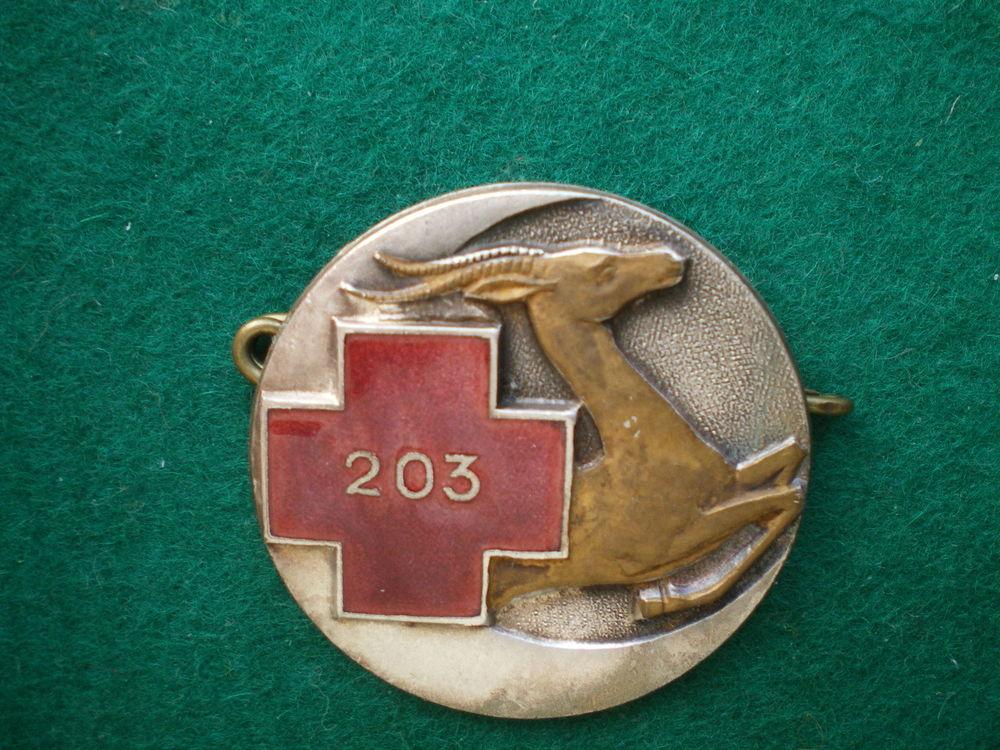 Insigne de Santé - Ambulance Chirurgicale Légère 203. 45 Caen (14)