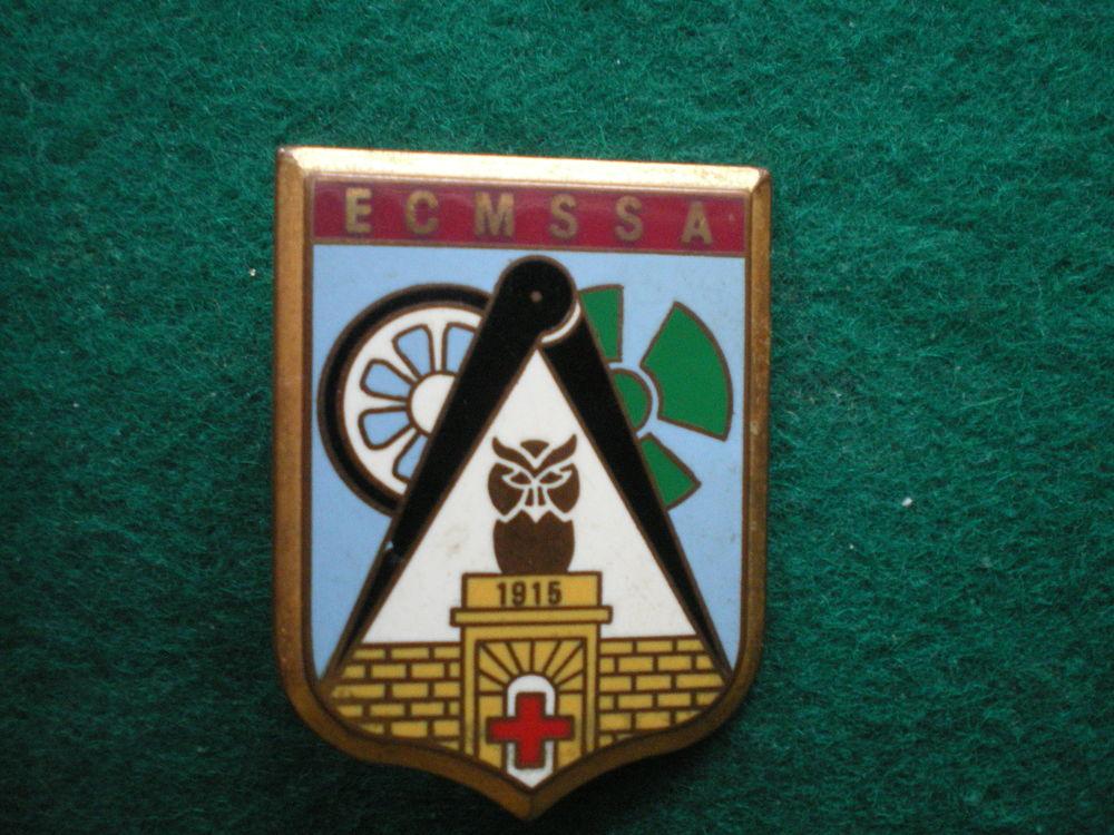 Insigne de Santé - E.C.M.S.S.A Ets Central du Matériel. 18 Caen (14)
