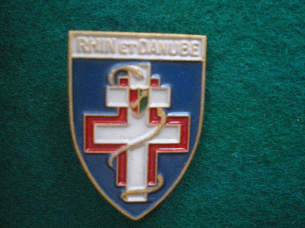 Insigne de Santé - Sanatorium pour femmes Rhin et Danube. 45 Caen (14)