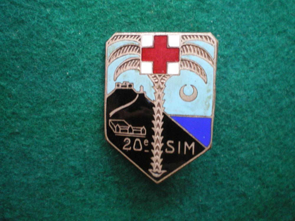 Insigne de Santé - 20° S.I.M. Section Infirmiers Militaires. 76 Caen (14)
