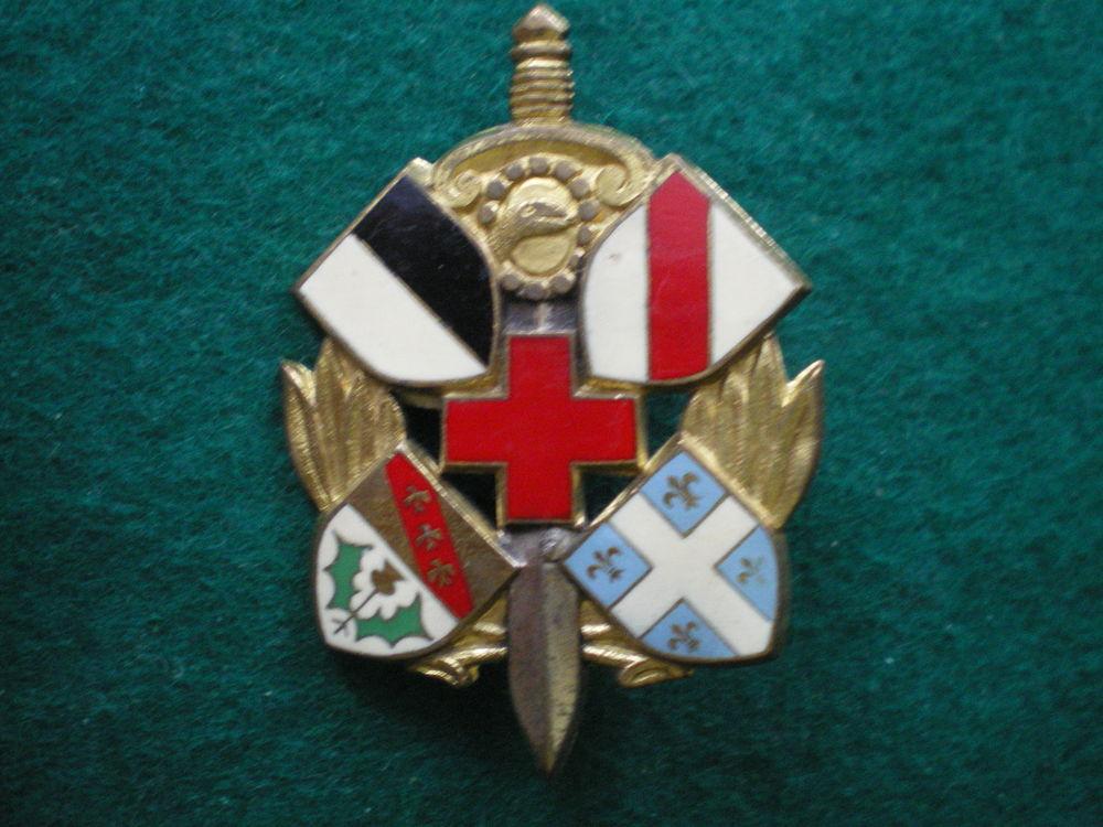Insigne de Santé - 6° S.I.M. Section d'Infirmiers Militaires 12 Caen (14)