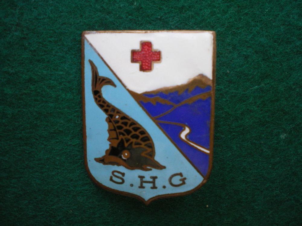 Insigne de Santé - Service de Santé Dauphiné S.H.G. 220 Caen (14)