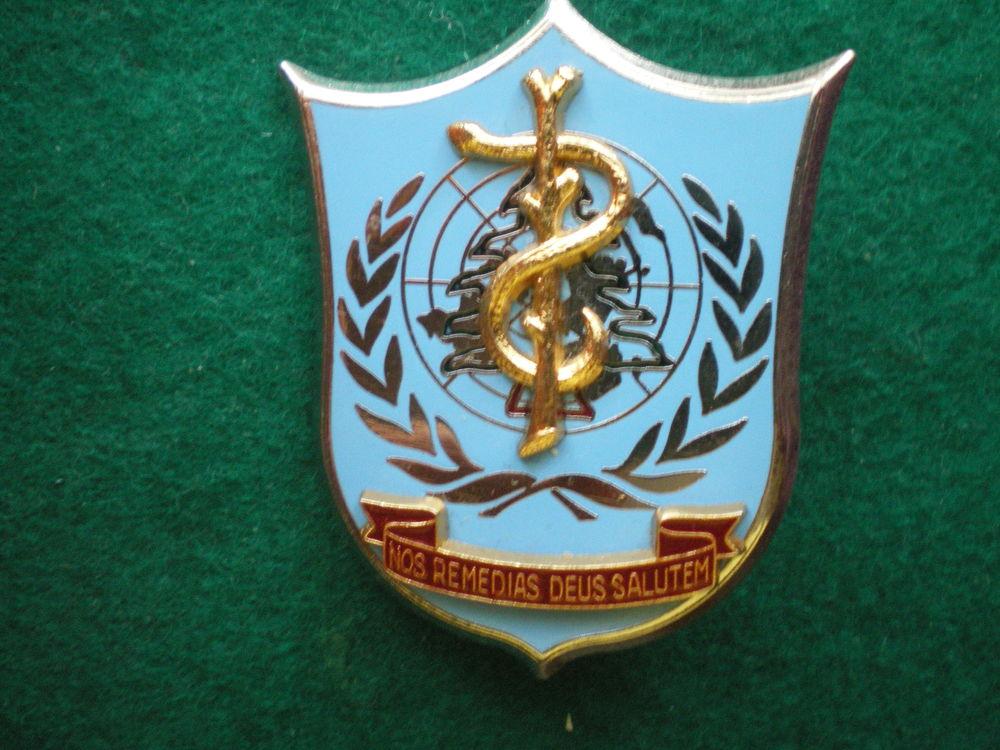 Insigne de Santé - Service de Santé au Liban. F.I.N.U.L. 15 Caen (14)