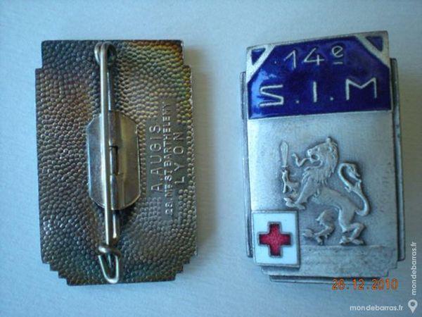 Insigne service de santé 30 Saint-Raphaël (83)