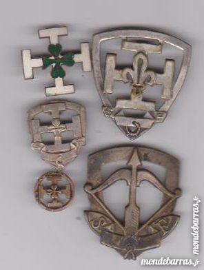 Lot Insignes SCOUT anciens //Militaria 1 Pouldouran (22)