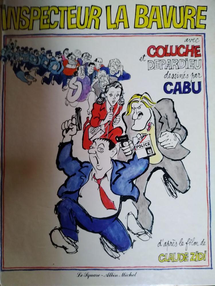 BD Inspecteur la bavure dessiné par CABU 0 Nouzonville (08)