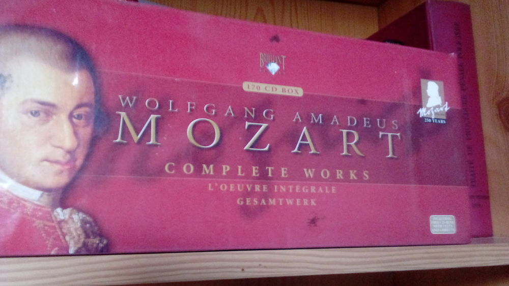 Intégrale MOZART CD et vinyles