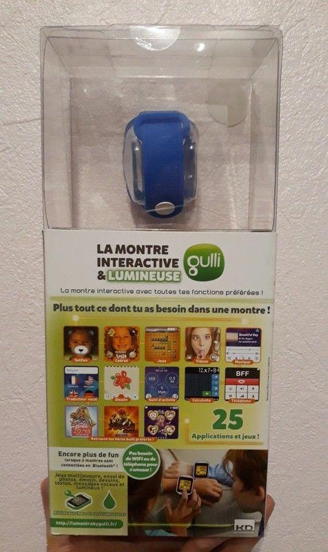 Kd Interactive Montre Connectée Lumineuse Kurio Gulli bleue 50 Abrest (03)