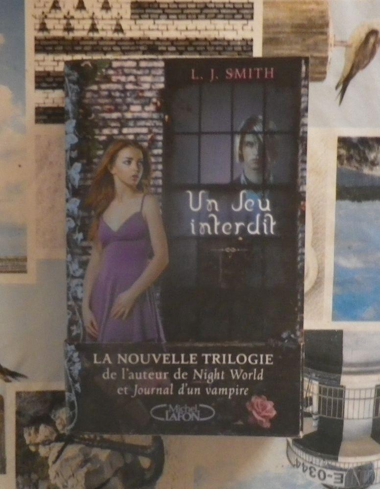 UN JEU INTERDIT de L.J. SMITH Ed. Michel Lafon 4 Bubry (56)